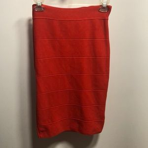 Red bandage skirt in great condition!